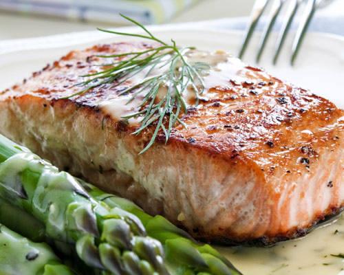 salmon pescado azul